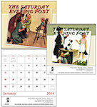 The Saturday Evening Post Spiral Wall Calendars